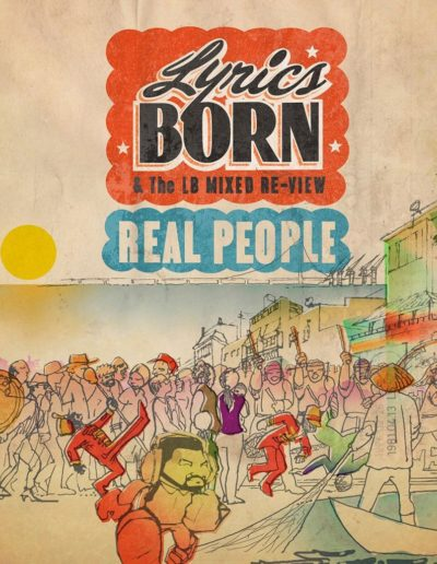 Lyrics Born 'Real People'