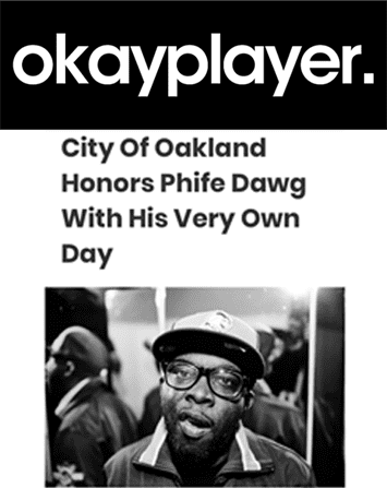 Oakland Declares May 17 Malik 'Phife Dawg' Taylor Day