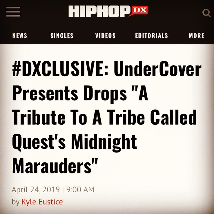 HipHopDX Premiere: UnderCover Presents – A Tribute to A Tribe Called Quest's 'Midnight Marauders'