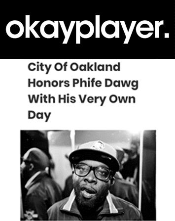 Oakland Declares May 17 Malik 'Phife Dawg' Taylor Day
